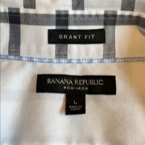 Banana Republic Shirts - Banana Republic Grant slim fit non-iron shirt